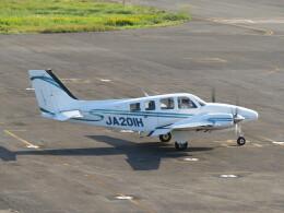 F.YUKIHIDEさんが、岡南飛行場で撮影した学校法人ヒラタ学園 航空事業本部 Baron G58の航空フォト(飛行機 写真・画像)