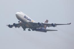JJ✈さんが、岩国空港で撮影したアトラス航空 747-422の航空フォト(飛行機 写真・画像)