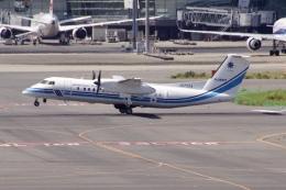 JA8943さんが、羽田空港で撮影した海上保安庁 DHC-8-315 Dash 8の航空フォト(飛行機 写真・画像)