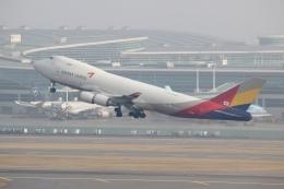 NIKEさんが、仁川国際空港で撮影したアシアナ航空 747-48EF/SCDの航空フォト(飛行機 写真・画像)