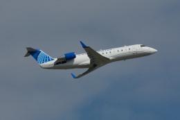 小弦さんが、ジョージ・ブッシュ・インターコンチネンタル空港で撮影したユナイテッド・エクスプレス CL-600-2B19 Regional Jet CRJ-200LRの航空フォト(飛行機 写真・画像)