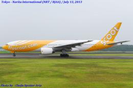 Chofu Spotter Ariaさんが、成田国際空港で撮影したスクート (〜2017) 777-212/ERの航空フォト(飛行機 写真・画像)