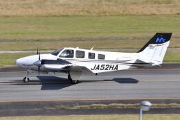 ワイエスさんが、大分空港で撮影した本田航空 Baron G58の航空フォト(飛行機 写真・画像)