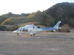 ランチパッドさんが、静岡ヘリポートで撮影した日本デジタル研究所(JDL) AW109SPの航空フォト(飛行機 写真・画像)