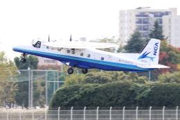 Hiro-hiroさんが、調布飛行場で撮影した新中央航空 228-212の航空フォト(飛行機 写真・画像)
