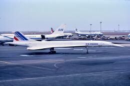 パール大山さんが、ジョン・F・ケネディ国際空港で撮影したエールフランス航空 Concorde 101の航空フォト(飛行機 写真・画像)