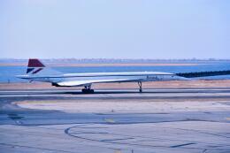 パール大山さんが、ジョン・F・ケネディ国際空港で撮影したブリティッシュ・エアウェイズ Concorde 102の航空フォト(飛行機 写真・画像)
