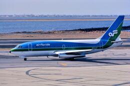 パール大山さんが、ジョン・F・ケネディ国際空港で撮影したエア・フロリダ 737-2T4/Advの航空フォト(飛行機 写真・画像)