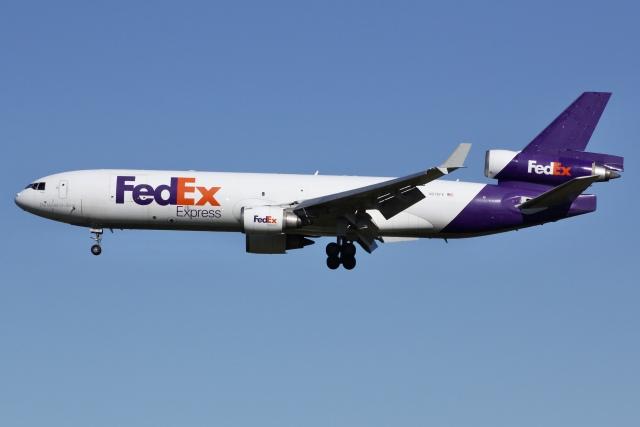 航空フォト:N576FE フェデックス・エクスプレス MD-11