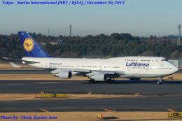 Chofu Spotter Ariaさんが、成田国際空港で撮影したルフトハンザドイツ航空 747-430の航空フォト(飛行機 写真・画像)