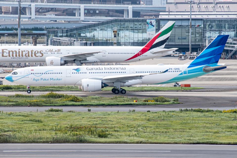 I.Kさんのガルーダ・インドネシア航空 Airbus A330-900 (PK-GHG) 航空フォト
