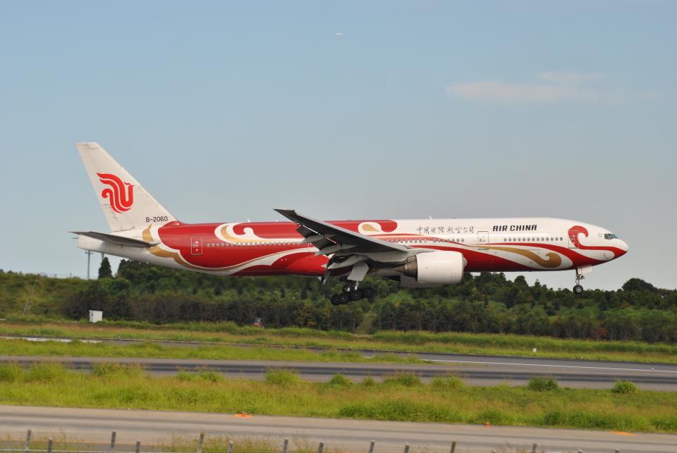 LEGACY-747さんの中国国際航空 Boeing 777-200 (B-2060) 航空フォト