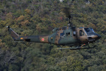 ほてるやんきーさんが、岡山県で撮影した陸上自衛隊 UH-1Jの航空フォト(飛行機 写真・画像)