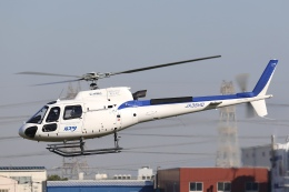 Hii82さんが、八尾空港で撮影したディーエイチシー AS350B3 Ecureuilの航空フォト(飛行機 写真・画像)