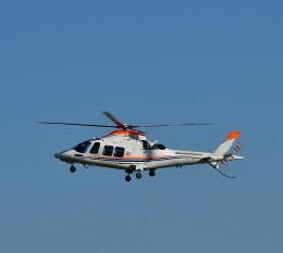 かたつむりくんさんが、花巻空港で撮影した朝日新聞社 A109SPの航空フォト(飛行機 写真・画像)