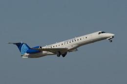 小弦さんが、ジョージ・ブッシュ・インターコンチネンタル空港で撮影したエクスプレスジェット・エアラインズ ERJ-145XRの航空フォト(飛行機 写真・画像)