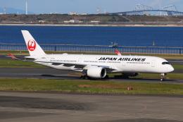 やつはしさんが、羽田空港で撮影した日本航空 A350-941の航空フォト(飛行機 写真・画像)