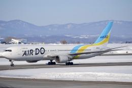 TulipTristar 777さんが、旭川空港で撮影したAIR DO 767-381/ERの航空フォト(飛行機 写真・画像)