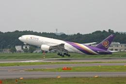 maverickさんが、成田国際空港で撮影したタイ国際航空 777-2D7の航空フォト(飛行機 写真・画像)