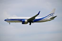 雲霧さんが、成田国際空港で撮影したアトラン・アヴィアトランス・カーゴ・エアラインズ 737-83N(BCF)の航空フォト(飛行機 写真・画像)