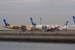 飛行機ゆうちゃんさんが、羽田空港で撮影した全日空 777-381/ERの航空フォト(飛行機 写真・画像)