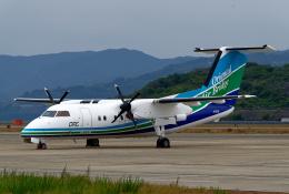 simokさんが、長崎空港で撮影したオリエンタルエアブリッジ DHC-8-202Q Dash 8の航空フォト(飛行機 写真・画像)