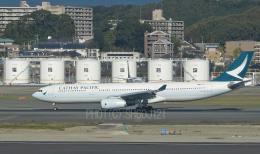 SH60J121さんが、福岡空港で撮影したキャセイパシフィック航空 A330-343Xの航空フォト(飛行機 写真・画像)