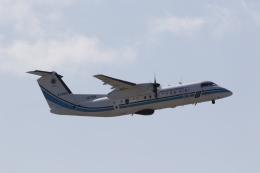 ANA744Foreverさんが、那覇空港で撮影した海上保安庁 DHC-8-315 Dash 8の航空フォト(飛行機 写真・画像)