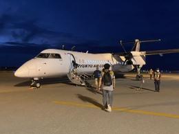 ユターさんが、与那国空港で撮影した琉球エアーコミューター DHC-8-402Q Dash 8 Combiの航空フォト(飛行機 写真・画像)