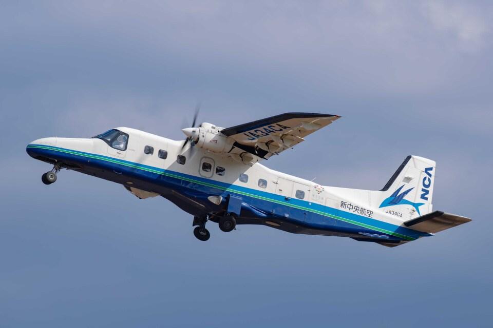 Takeshi90ssさんの新中央航空 Dornier 228 NG (JA34CA) 航空フォト