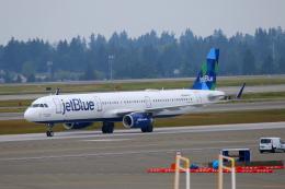 かみじょー。さんが、シアトル タコマ国際空港で撮影したジェットブルー A321-231の航空フォト(飛行機 写真・画像)