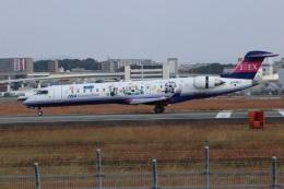つっさんさんが、伊丹空港で撮影したアイベックスエアラインズ CL-600-2C10 Regional Jet CRJ-702ERの航空フォト(飛行機 写真・画像)