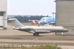 mahiちゃんさんが、成田国際空港で撮影したビスタジェット BD-700-1A10 Global 6000の航空フォト(飛行機 写真・画像)