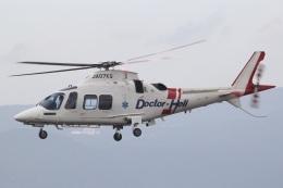 MOR1(新アカウント)さんが、鹿児島空港で撮影した日本法人所有 AW109SP GrandNewの航空フォト(飛行機 写真・画像)