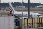 mahiちゃんさんが、成田国際空港で撮影したエアXチャーター 737-5Q8の航空フォト(飛行機 写真・画像)