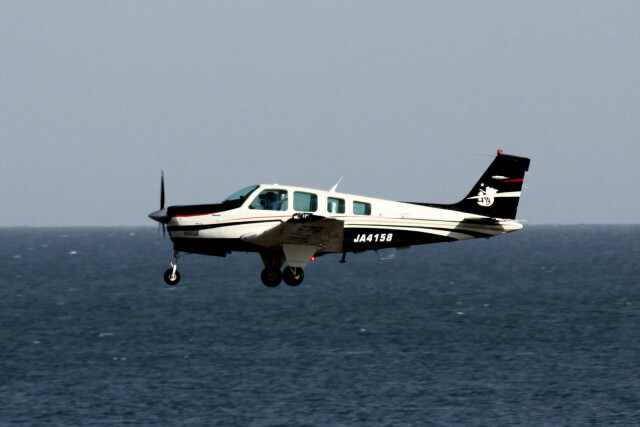 動物村猫君さんが、大分空港で撮影したタンゴ・エア・サポート A36 Bonanza 36の航空フォト(飛行機 写真・画像)