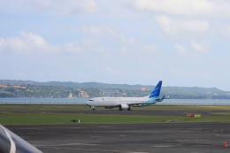 Hiro-hiroさんが、デンパサール国際空港で撮影したガルーダ・インドネシア航空 737-8U3の航空フォト(飛行機 写真・画像)