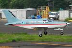 Chofu Spotter Ariaさんが、調布飛行場で撮影したベルハンドクラブ PA-46-350P Malibu Mirageの航空フォト(飛行機 写真・画像)