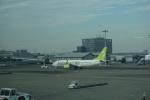 トレインさんが、羽田空港で撮影したソラシド エア 737-86Nの航空フォト(飛行機 写真・画像)