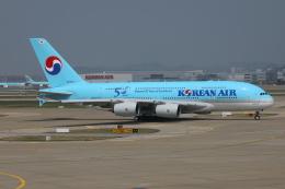 TIA spotterさんが、仁川国際空港で撮影した大韓航空 A380-861の航空フォト(飛行機 写真・画像)