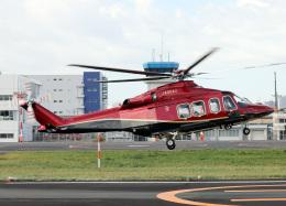 voyagerさんが、東京ヘリポートで撮影した三井物産エアロスペース AW139の航空フォト(飛行機 写真・画像)