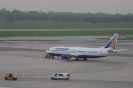Hiro-hiroさんが、ウィーン国際空港で撮影したトランスアエロ航空 737-4S3の航空フォト(飛行機 写真・画像)