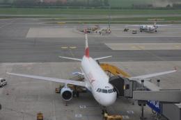 Hiro-hiroさんが、ウィーン国際空港で撮影したオーストリア航空 A320-214の航空フォト(飛行機 写真・画像)