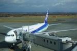 トレインさんが、新千歳空港で撮影した全日空 767-381/ERの航空フォト(飛行機 写真・画像)