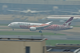 Souma2005さんが、香港国際空港で撮影したカンタス航空 787-9の航空フォト(飛行機 写真・画像)