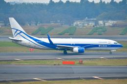EY888さんが、成田国際空港で撮影したアトラン・アヴィアトランス・カーゴ・エアラインズ 737-83N(BCF)の航空フォト(飛行機 写真・画像)