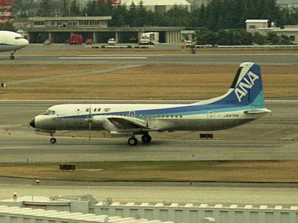 Lovely-Akiさんの全日空 NAMC YS-11 (JA8756) 航空フォト