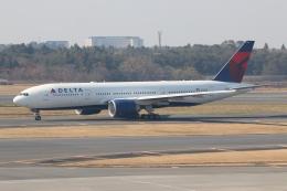 NIKEさんが、成田国際空港で撮影したデルタ航空 777-232/LRの航空フォト(飛行機 写真・画像)