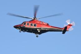 かぐさんが、東京ヘリポートで撮影した三井物産エアロスペース AW139の航空フォト(飛行機 写真・画像)