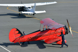 Gambardierさんが、岡南飛行場で撮影した日本個人所有 YMF-F5Cの航空フォト(飛行機 写真・画像)